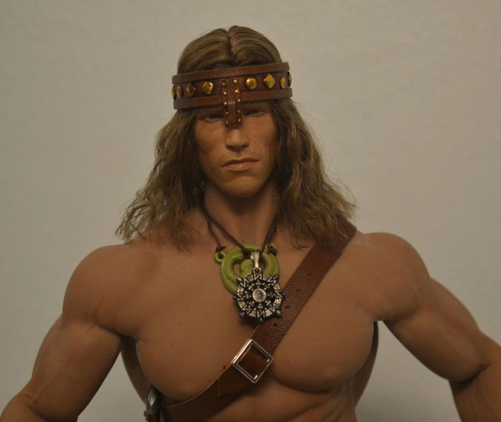 NEW PRODUCT:  Mr. Toys MT2018-02 1/6 Conan head carving costume set _dsc2914
