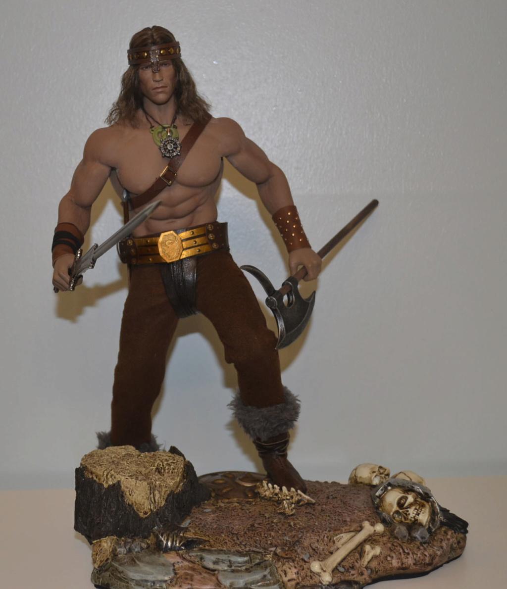NEW PRODUCT:  Mr. Toys MT2018-02 1/6 Conan head carving costume set _dsc2915
