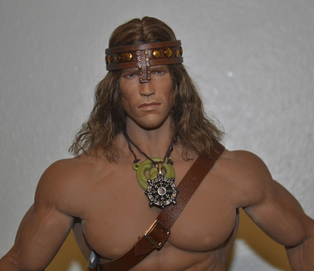 NEW PRODUCT:  Mr. Toys MT2018-02 1/6 Conan head carving costume set _dsc2916
