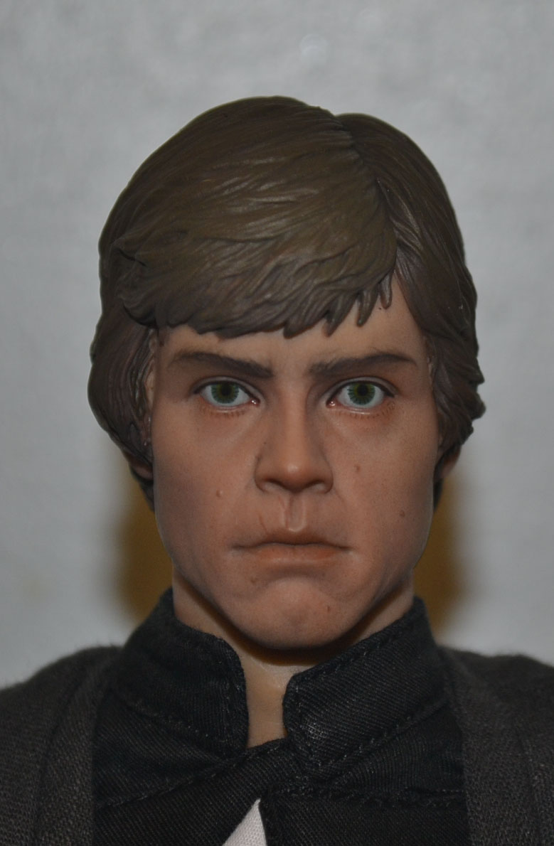 Mini-Review: Sideshow Collectibles: Deluxe Edition Return of the Jedi Luke Skywalker _dsc3052