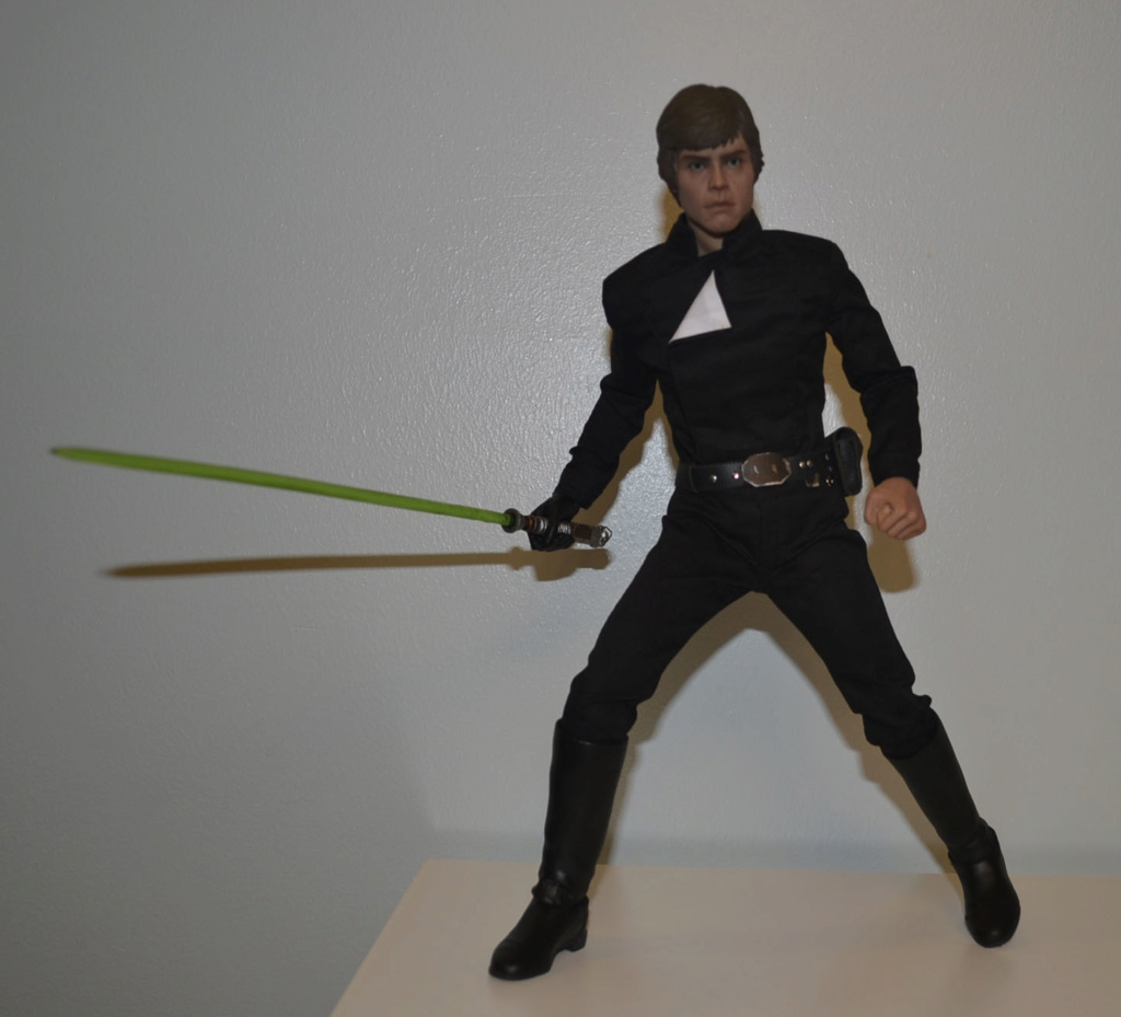 Mini-Review: Sideshow Collectibles: Deluxe Edition Return of the Jedi Luke Skywalker _dsc3061