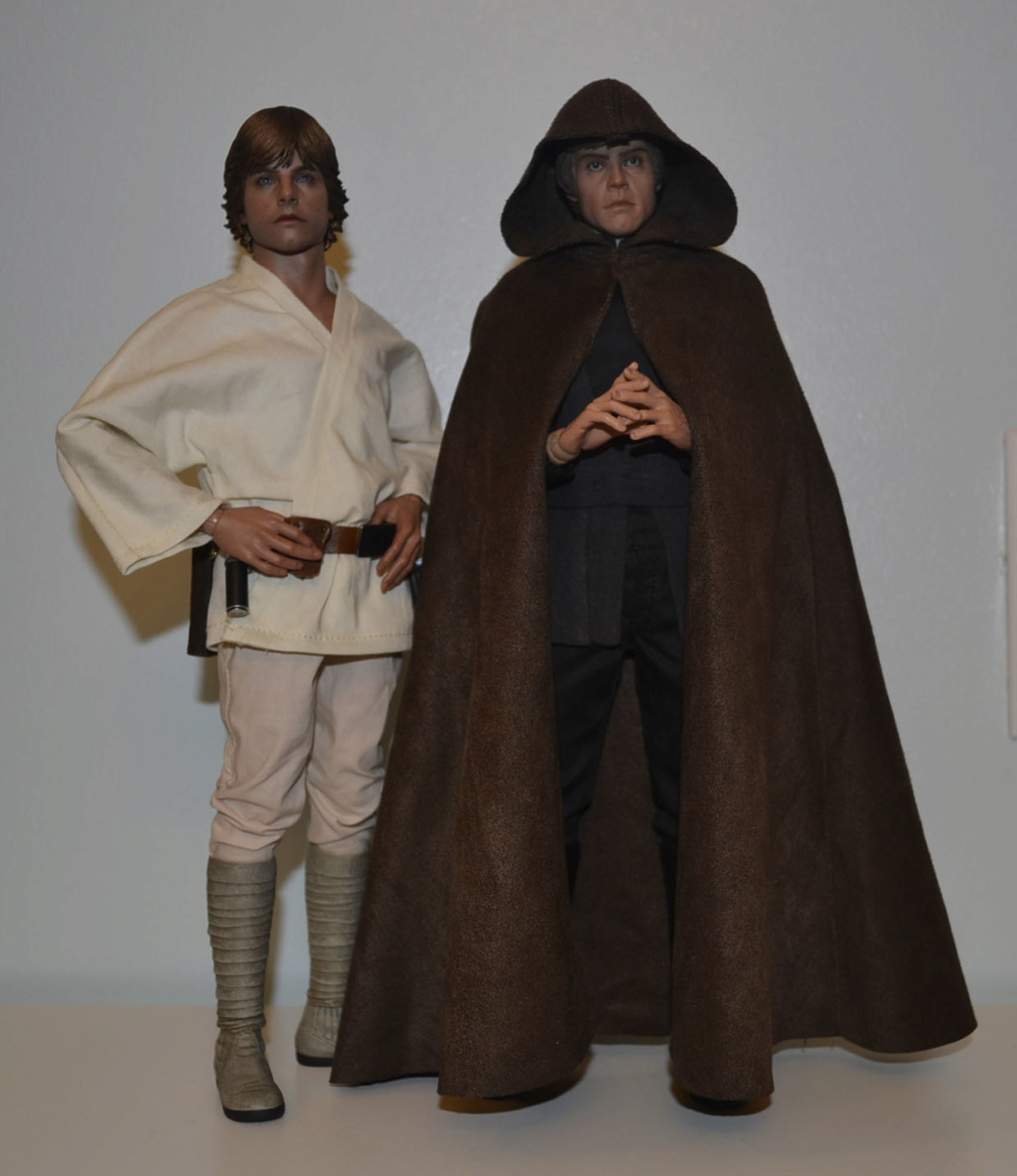 Mini-Review: Sideshow Collectibles: Deluxe Edition Return of the Jedi Luke Skywalker _dsc3110