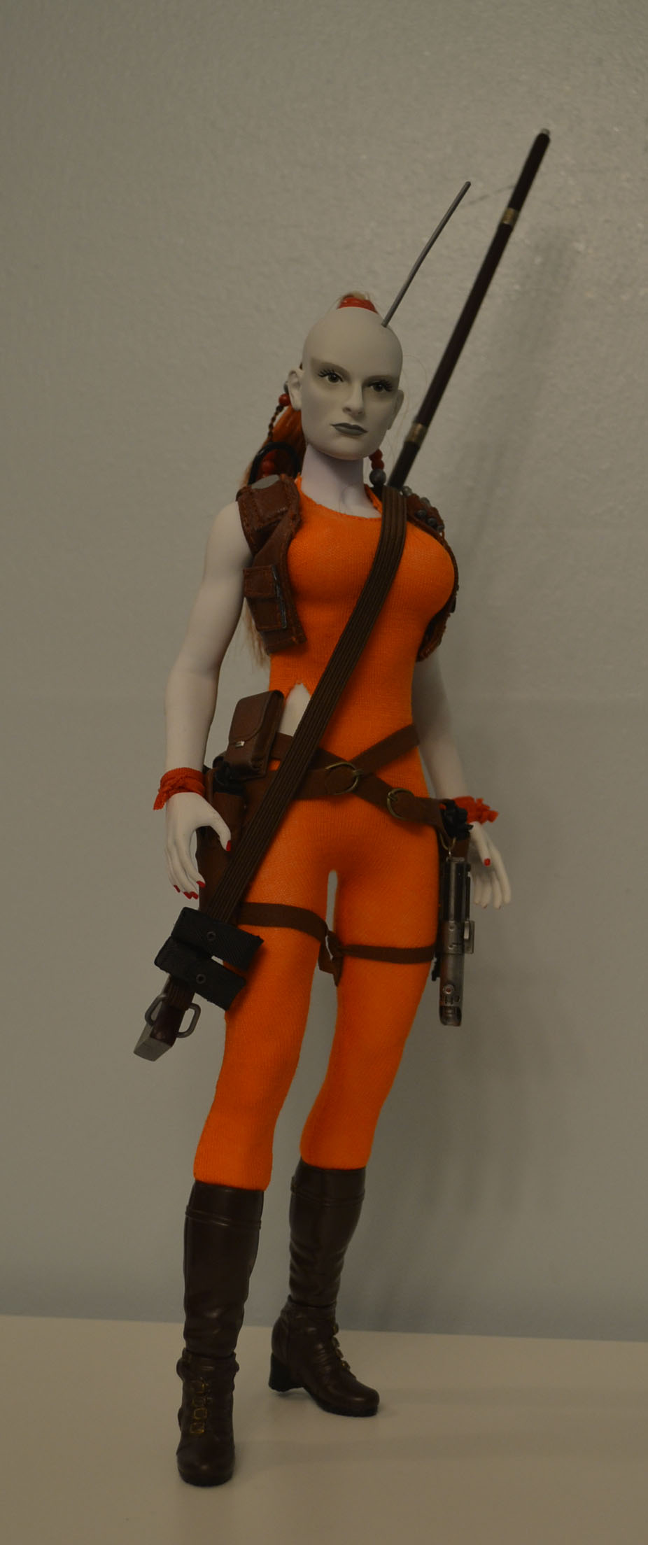 bountyhunter - Custom/Kitbash: Aurra Sing - Star Wars Bounty Hunter (Episode I) _dsc3125