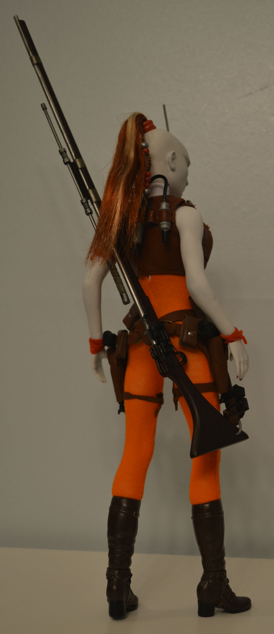 bountyhunter - Custom/Kitbash: Aurra Sing - Star Wars Bounty Hunter (Episode I) _dsc3126