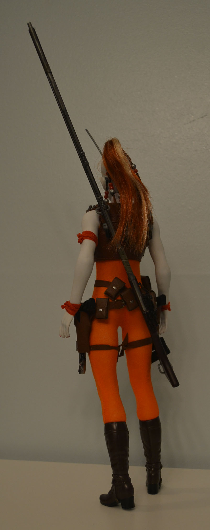 bountyhunter - Custom/Kitbash: Aurra Sing - Star Wars Bounty Hunter (Episode I) _dsc3127