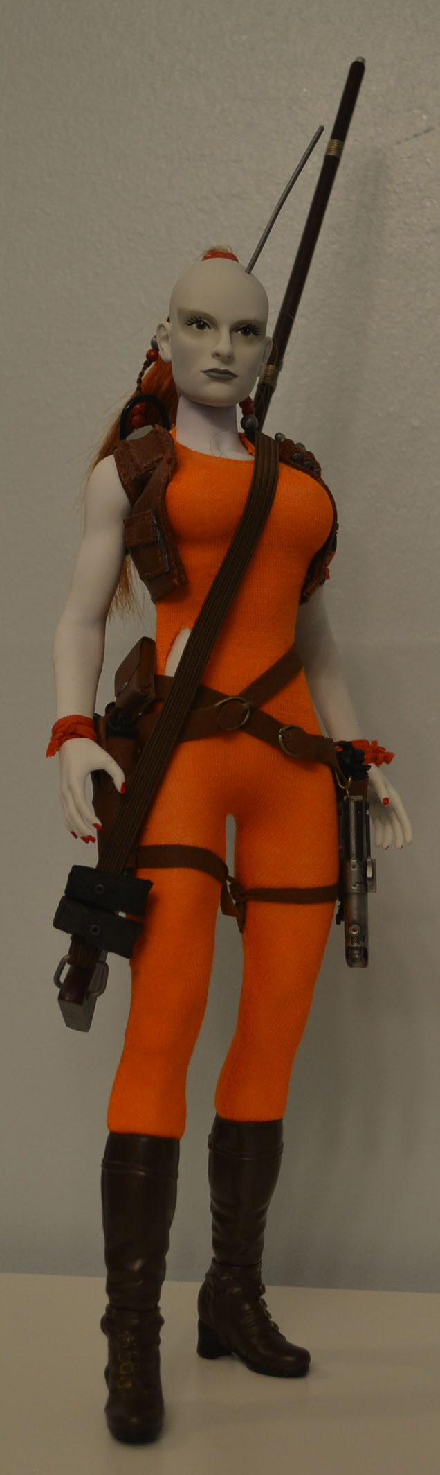 bountyhunter - Custom/Kitbash: Aurra Sing - Star Wars Bounty Hunter (Episode I) _dsc3128