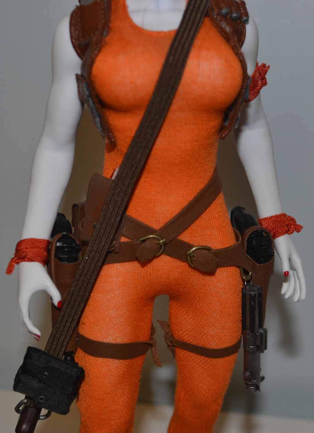 bountyhunter - Custom/Kitbash: Aurra Sing - Star Wars Bounty Hunter (Episode I) _dsc3129