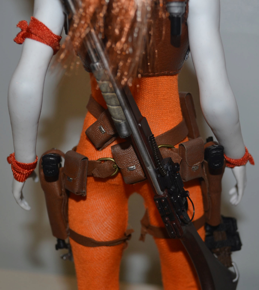 bountyhunter - Custom/Kitbash: Aurra Sing - Star Wars Bounty Hunter (Episode I) _dsc3130
