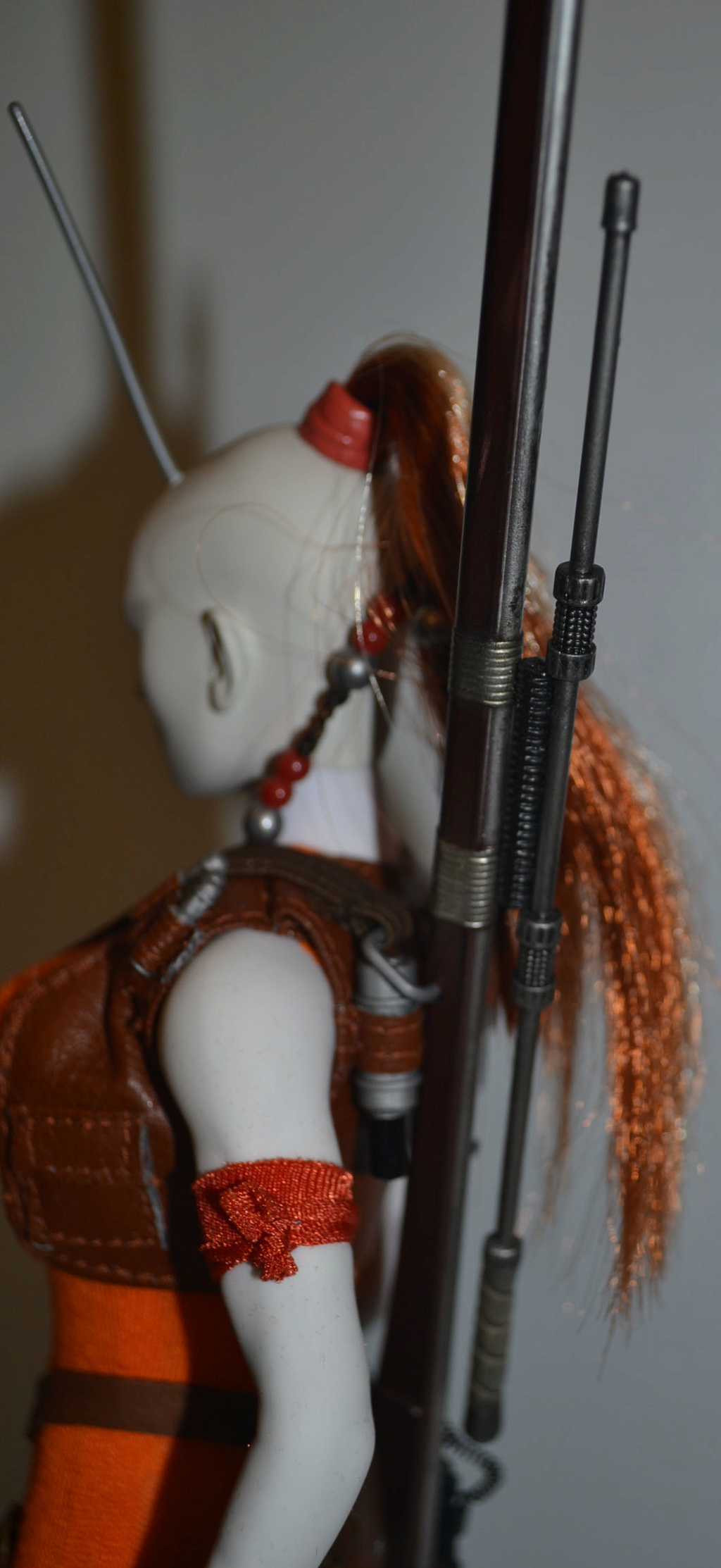 bountyhunter - Custom/Kitbash: Aurra Sing - Star Wars Bounty Hunter (Episode I) _dsc3131
