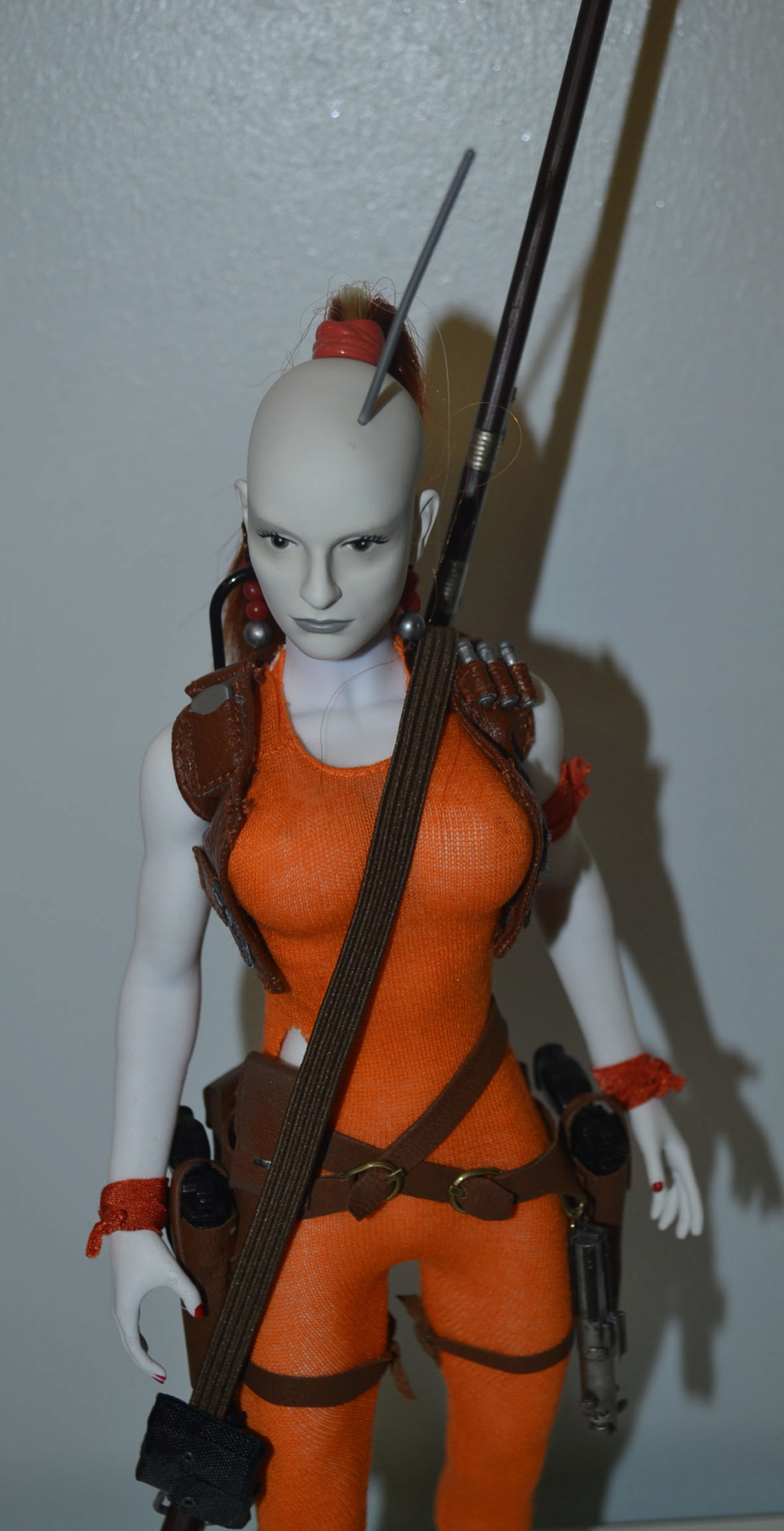 Custom/Kitbash: Aurra Sing - Star Wars Bounty Hunter (Episode I) _dsc3132