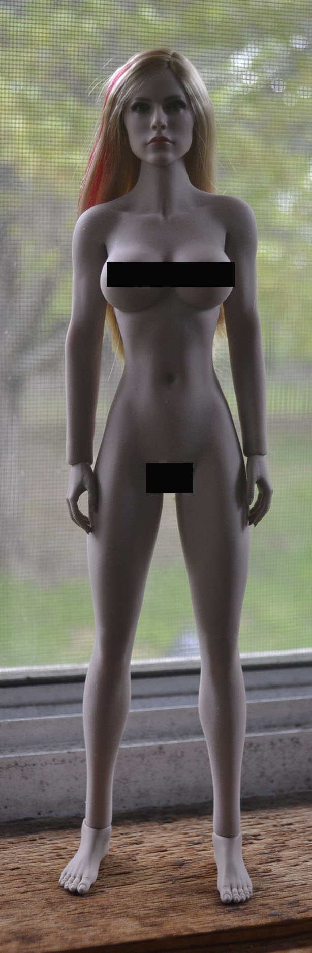 NEW PRODUCT: JXTOYS JX-029 Avril Head Sculpt H#Suntan _dsc3211