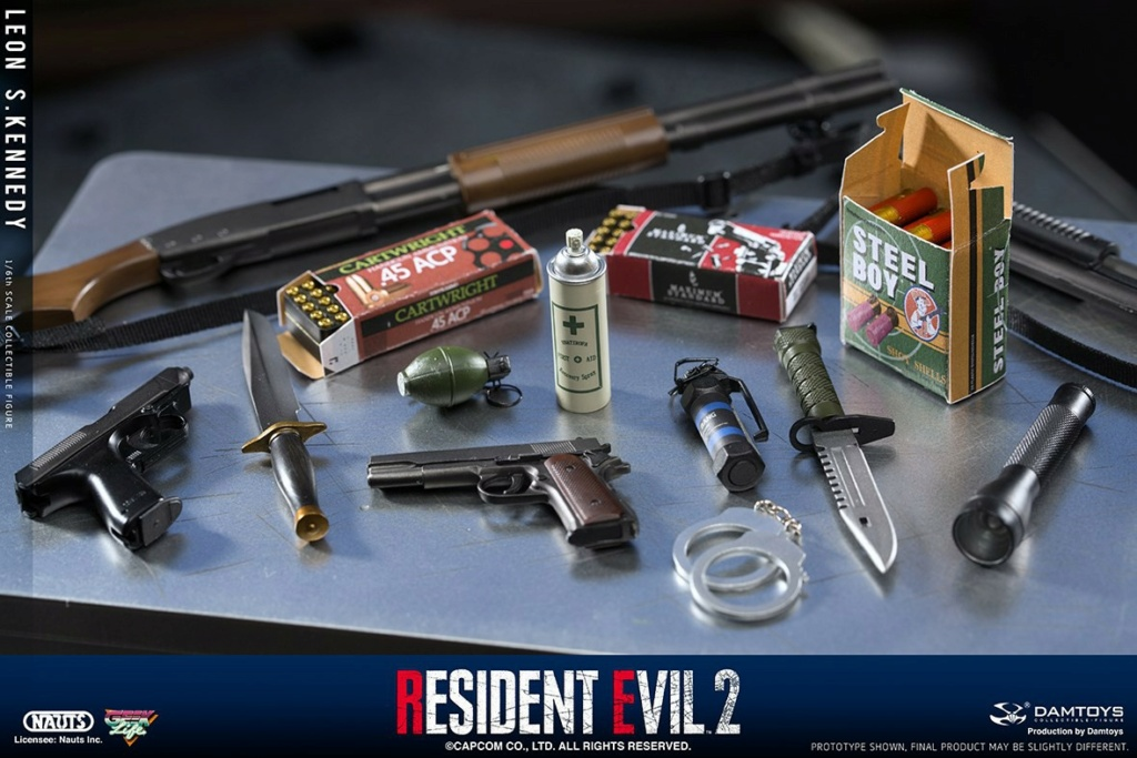 "Sci-Fi - NEW PRODUCT: NAUTS & DAMTOYS: 1/6 ""Resident Evil 2""-LEON S.KENNEDY/Lyon S. Kennedy remake #DMS030  A0128310"
