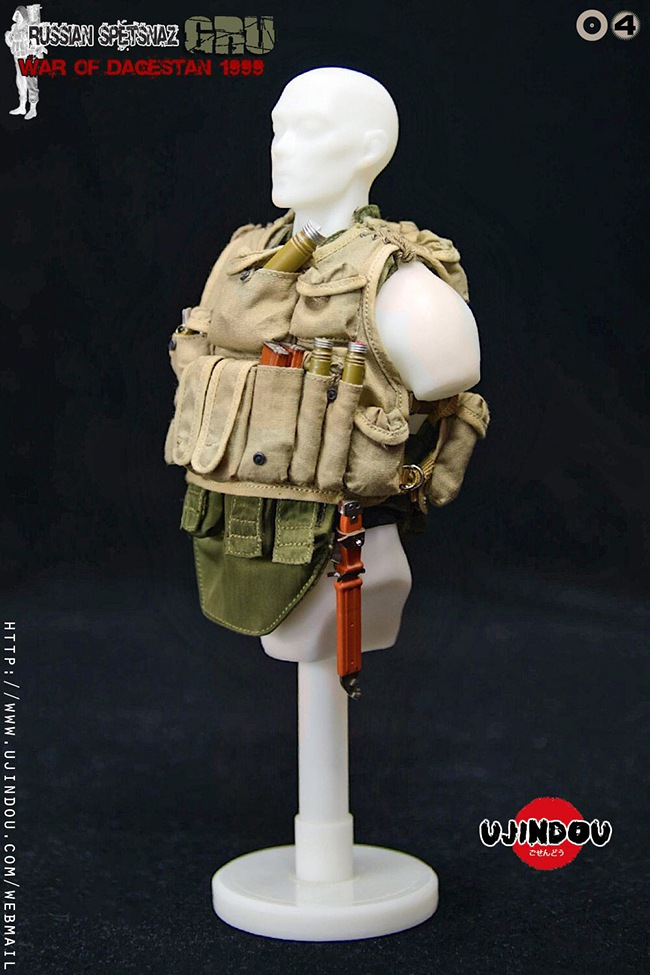 UJINDOU -  NEW PRODUCT: UJINDOU: 1/6 Russian Special Forces-Dagestan War 1999 #UD9004 [Update and update] A06c0610