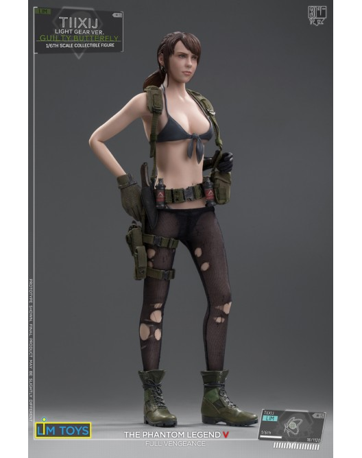 Videogame - NEW PRODUCT: 1/6 Scale LIMTOYS TIIXIJ GUILTY BUTTERFLY VER. (No body) Quiet A14-5210