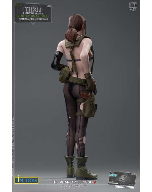 Videogame - NEW PRODUCT: 1/6 Scale LIMTOYS TIIXIJ GUILTY BUTTERFLY VER. (No body) Quiet A15-5210