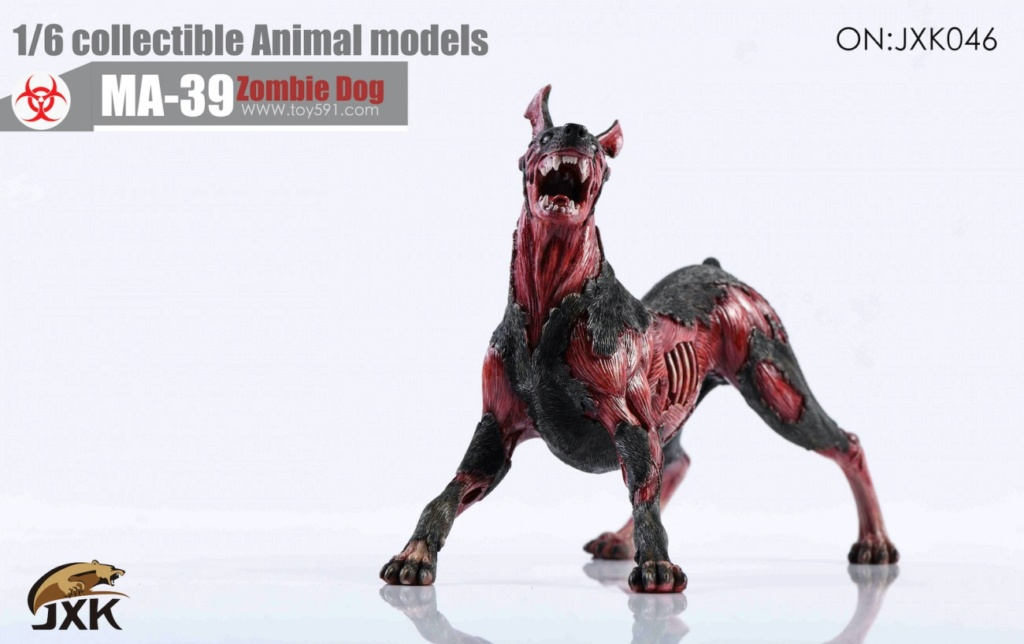 Dog - NEW PRODUCT: JXK: 1/6 Zombie Dog 2.0 JXK046 Resident Evil Zombie Dog Doberman A2934b10