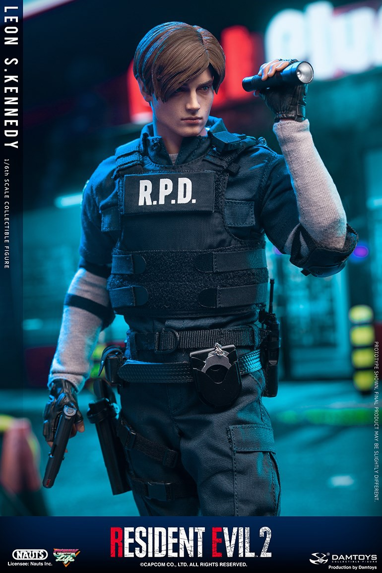"Sci-Fi - NEW PRODUCT: NAUTS & DAMTOYS: 1/6 ""Resident Evil 2""-LEON S.KENNEDY/Lyon S. Kennedy remake #DMS030  A3c57e10"
