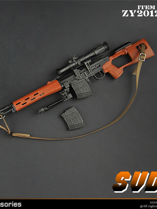 modernmilitary - NEW PRODUCT: ZY Toys: 1/6 SVD Rifle by ZY TOYS (2 color options) A_001s10