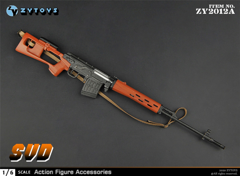 modernmilitary - NEW PRODUCT: ZY Toys: 1/6 SVD Rifle by ZY TOYS (2 color options) A_004_10