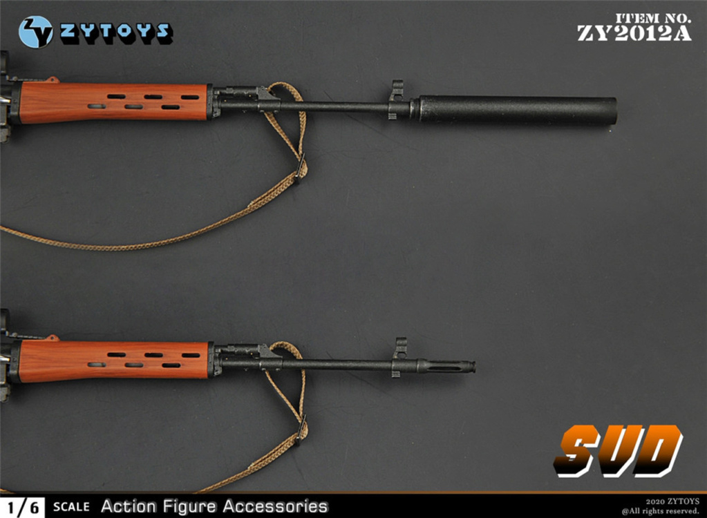 modernmilitary - NEW PRODUCT: ZY Toys: 1/6 SVD Rifle by ZY TOYS (2 color options) A_005_10