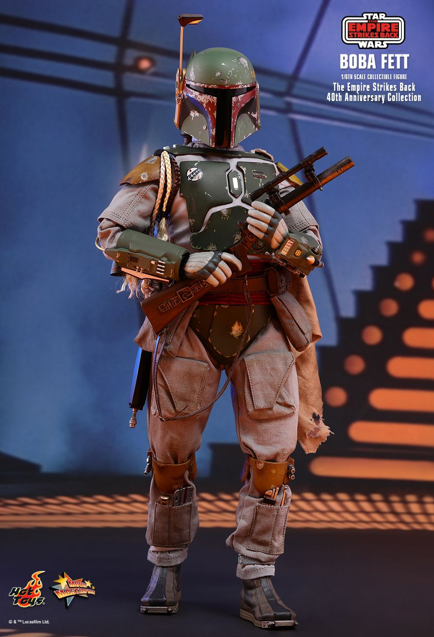 empirestrikesback - NEW PRODUCT: HOT TOYS: STAR WARS: THE EMPIRE STRIKES BACK™ BOBA FETT™ (STAR WARS: THE EMPIRE STRIKES BACK 40TH ANNIVERSARY COLLECTION) 1/6TH SCALE COLLECTIBLE FIGURE Aa018410
