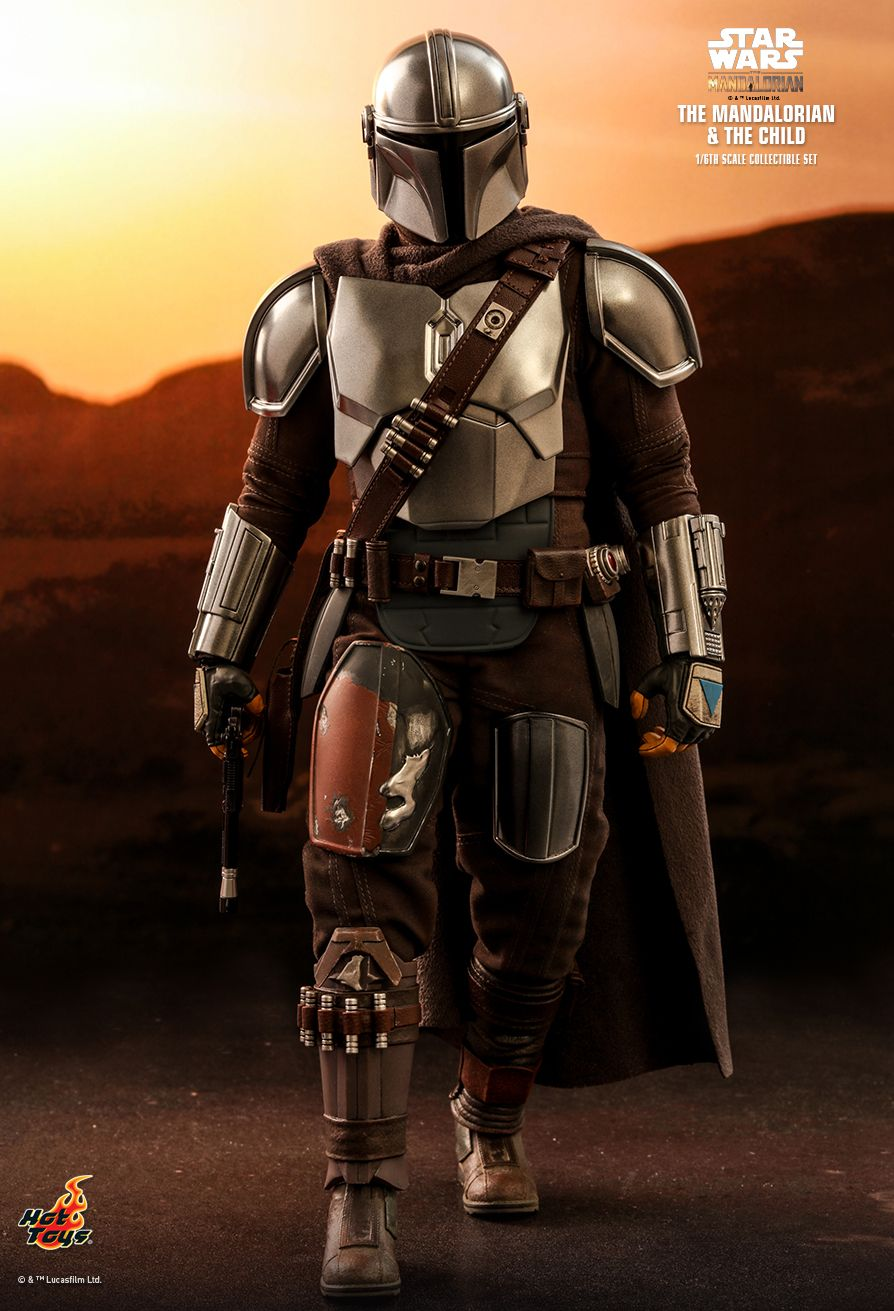 Sci-Fi - NEW PRODUCT: HOT TOYS: THE MANDALORIAN THE MANDALORIAN AND THE CHILD 1/6TH SCALE COLLECTIBLE SET (Standard and Deluxe) Ac152910