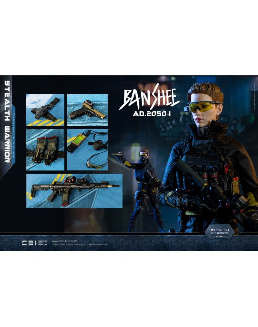 Military - NEW PRODUCT: C&D Industry 1/6 Scale AD.2050.I BANSHEE (2 versions) Ad_20525