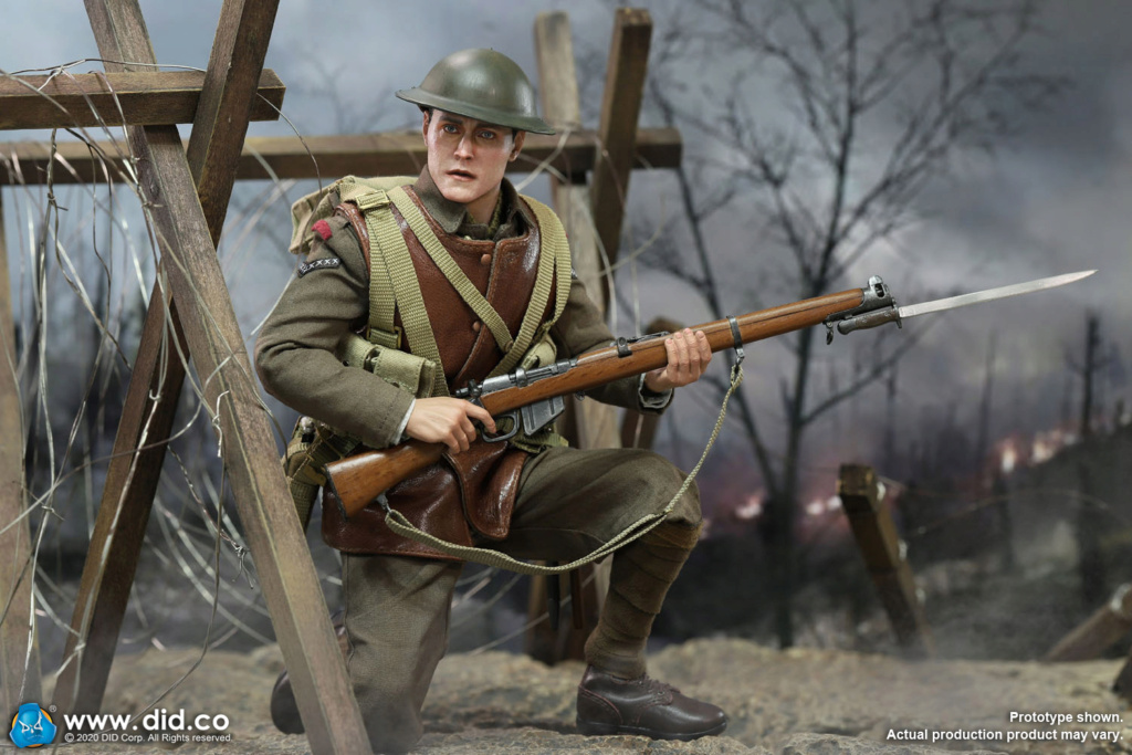 military - NEW PRODUCT: DiD: B11011 WWI British Infantry Lance Corporal William & Trench Diorama Set (UPDATED INFORMATION) Adbf3a10