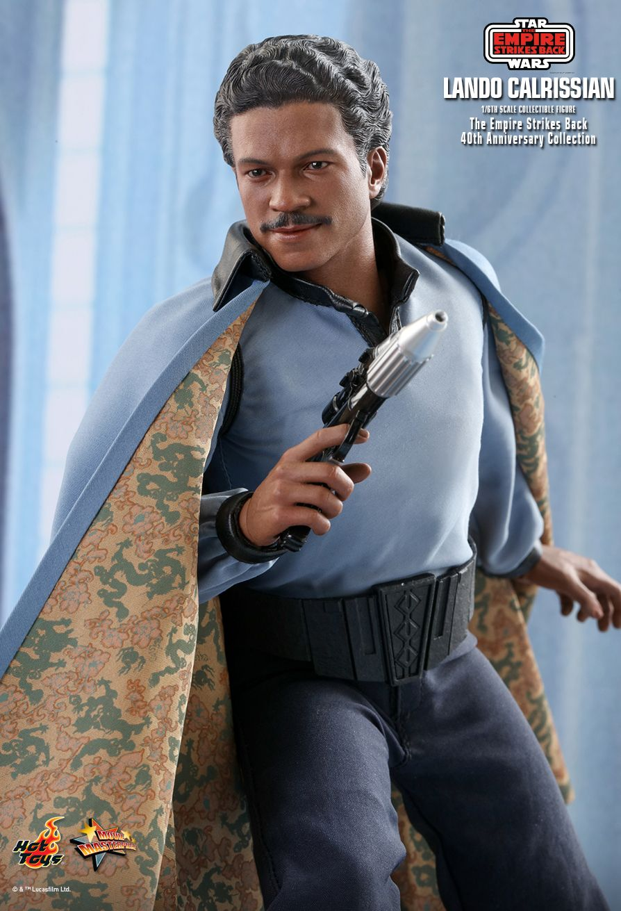 movie - NEW PRODUCT: HOT TOYS: STAR WARS: THE EMPIRE STRIKES BACK™ LANDO CALRISSIAN™ (STAR WARS: THE EMPIRE STRIKES BACK 40TH ANNIVERSARY COLLECTION) 1/6TH SCALE COLLECTIBLE FIGURE Afb21810
