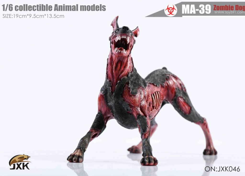 Dog - NEW PRODUCT: JXK: 1/6 Zombie Dog 2.0 JXK046 Resident Evil Zombie Dog Doberman Afc6b410