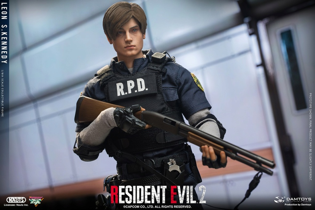 "Sci-Fi - NEW PRODUCT: NAUTS & DAMTOYS: 1/6 ""Resident Evil 2""-LEON S.KENNEDY/Lyon S. Kennedy remake #DMS030  Afebc510"