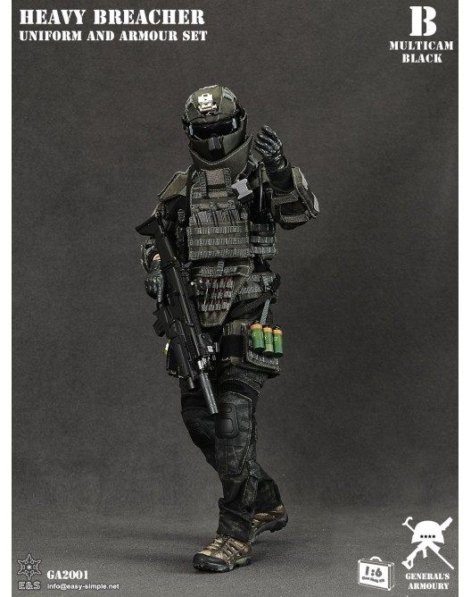 General - NEW PRODUCT: General's Armoury GA2001 1/6 Scale Heavy Breacher Uniform and Armour Set B-1-5210