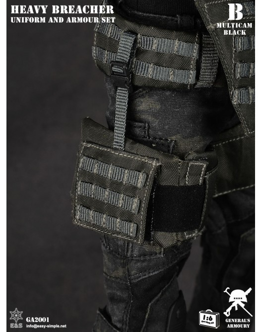 General - NEW PRODUCT: General's Armoury GA2001 1/6 Scale Heavy Breacher Uniform and Armour Set B-12-510
