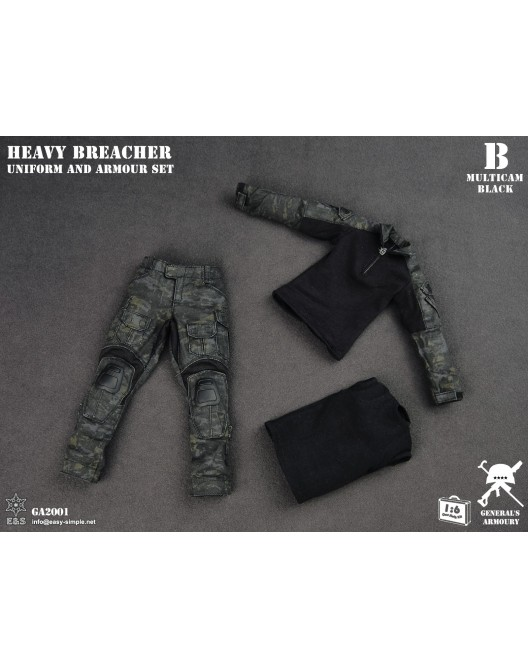 General - NEW PRODUCT: General's Armoury GA2001 1/6 Scale Heavy Breacher Uniform and Armour Set B-13-510
