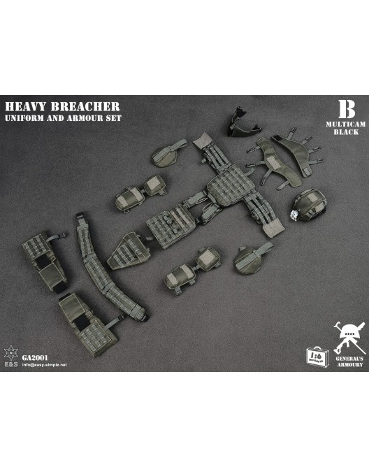 General - NEW PRODUCT: General's Armoury GA2001 1/6 Scale Heavy Breacher Uniform and Armour Set B-14-510