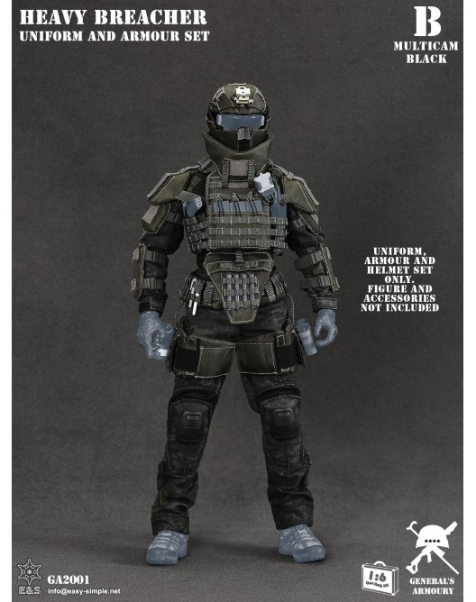 General - NEW PRODUCT: General's Armoury GA2001 1/6 Scale Heavy Breacher Uniform and Armour Set B-15-510