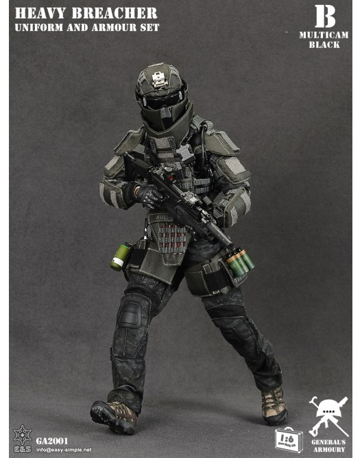 General - NEW PRODUCT: General's Armoury GA2001 1/6 Scale Heavy Breacher Uniform and Armour Set B-2-5210