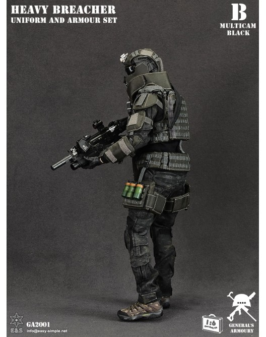 General - NEW PRODUCT: General's Armoury GA2001 1/6 Scale Heavy Breacher Uniform and Armour Set B-3-5210