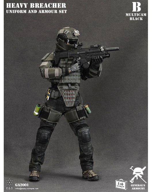 General - NEW PRODUCT: General's Armoury GA2001 1/6 Scale Heavy Breacher Uniform and Armour Set B-4-5210