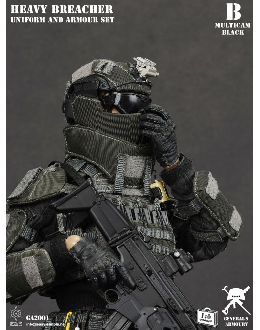 General - NEW PRODUCT: General's Armoury GA2001 1/6 Scale Heavy Breacher Uniform and Armour Set B-5-5210