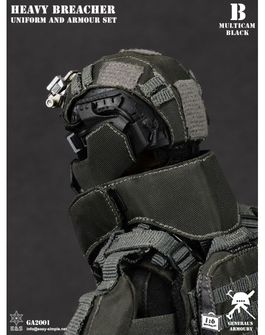 General - NEW PRODUCT: General's Armoury GA2001 1/6 Scale Heavy Breacher Uniform and Armour Set B-7-5210