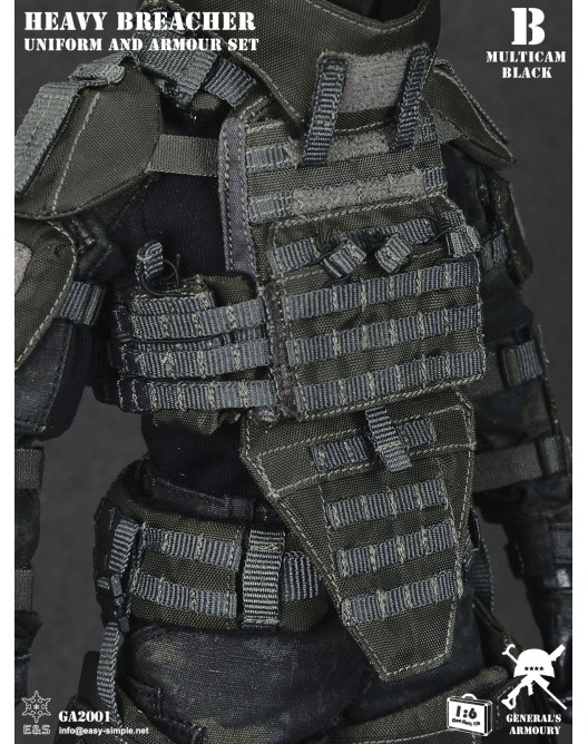 General - NEW PRODUCT: General's Armoury GA2001 1/6 Scale Heavy Breacher Uniform and Armour Set B-8-5210