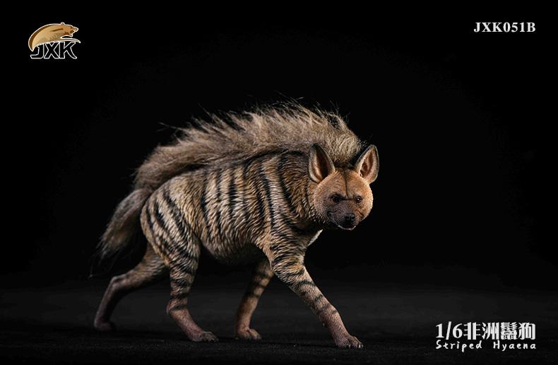 Dog - NEW PRODUCT: JXK: Caucasian Shepherd Dog JXK050 & African Hyena JXK051 Striped Hyena B12