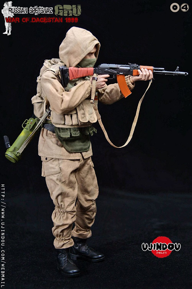 UJINDOU -  NEW PRODUCT: UJINDOU: 1/6 Russian Special Forces-Dagestan War 1999 #UD9004 [Update and update] B4526f10