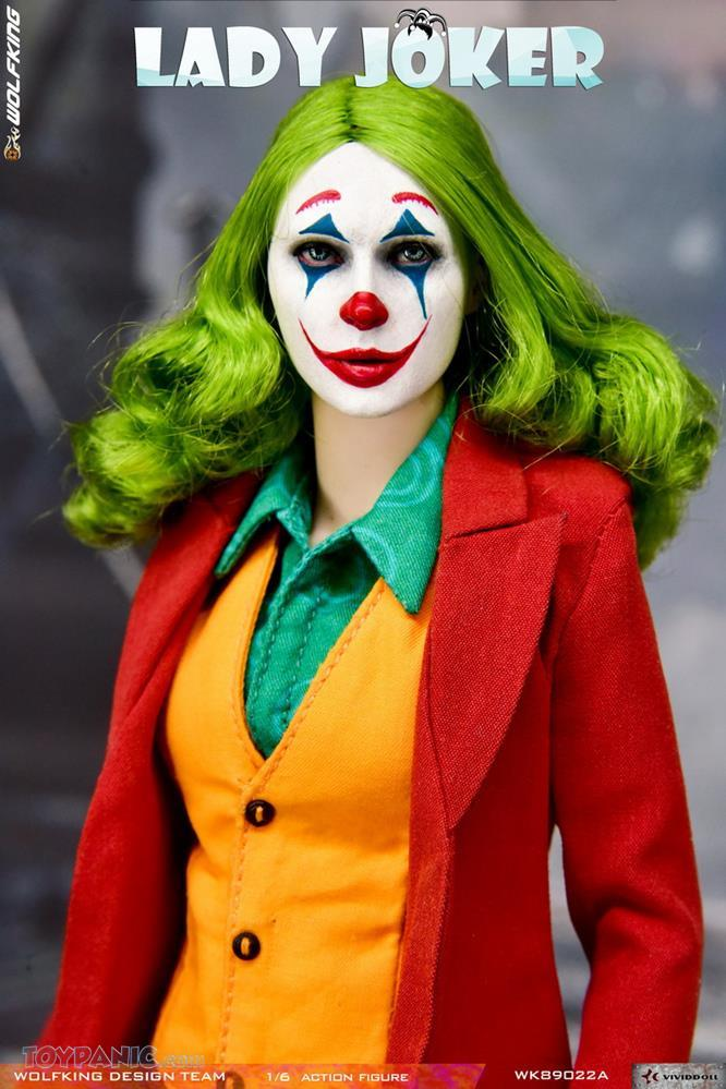 WolfKing - NEW PRODUCT: Wolfking: 1/6 scale Female Joker figure (Standard and Deluxe Editions) B5223210