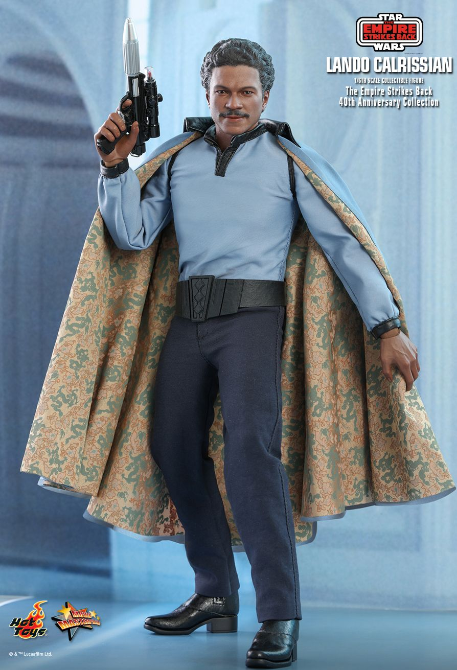 movie - NEW PRODUCT: HOT TOYS: STAR WARS: THE EMPIRE STRIKES BACK™ LANDO CALRISSIAN™ (STAR WARS: THE EMPIRE STRIKES BACK 40TH ANNIVERSARY COLLECTION) 1/6TH SCALE COLLECTIBLE FIGURE B52ad510