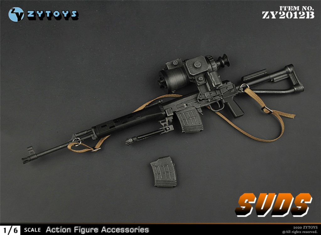 modernmilitary - NEW PRODUCT: ZY Toys: 1/6 SVD Rifle by ZY TOYS (2 color options) B_001_10