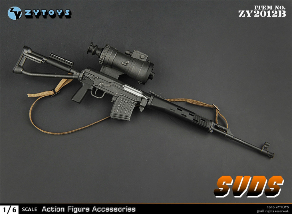 modernmilitary - NEW PRODUCT: ZY Toys: 1/6 SVD Rifle by ZY TOYS (2 color options) B_002_10