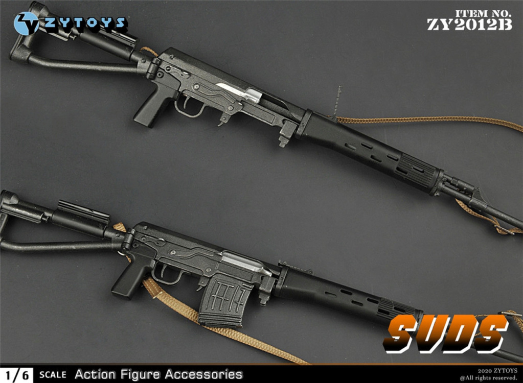 modernmilitary - NEW PRODUCT: ZY Toys: 1/6 SVD Rifle by ZY TOYS (2 color options) B_003_10