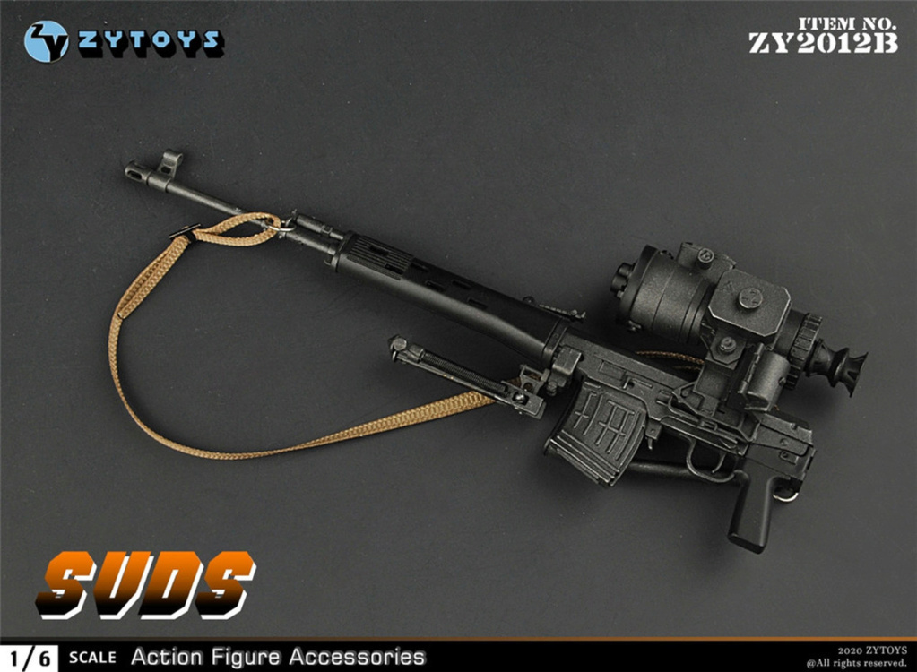 modernmilitary - NEW PRODUCT: ZY Toys: 1/6 SVD Rifle by ZY TOYS (2 color options) B_005_10